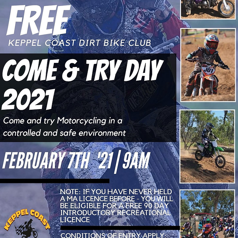 KCDBC - COME AND TRY DAY