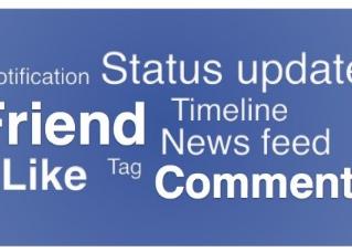 Facebook vocabulary