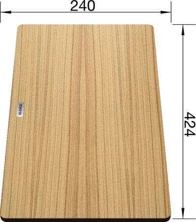 Blanco Food Board Wood for Blanco Sinks 424 x 230 230700
