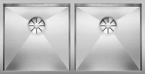 Blanco Zerox 400/400-U Double Bowl Undermount Sink 521620