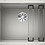 Thumbnail: Blanco Etagon 500-U Single Bowl Undermount Sink Choice of Colour