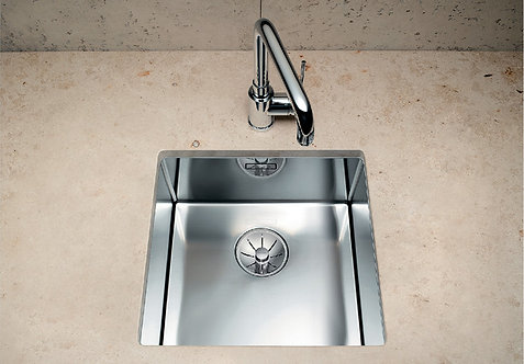 Blanco Claron 550-U Stainless Steel Undermount Sink & Tap Pack 453035