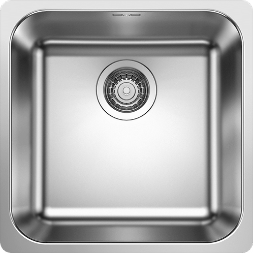 Blanco Supra 400 -IF Inset Single Bowl Stainless Steel Sink  455063