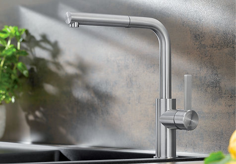 Blanco Lanora-S Stainless Steel Tap Upgrade for Blanco ALA Sink & Tap Packs