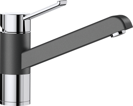 Blanco Zenos Single Top Lever Monobloc Mixer Tap - Silgranite Colours