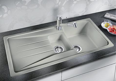 Blanco Sona 6S ALA Sink & Tap Pack - Silgranite Colours