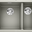 Thumbnail: Blanco Subline 340/160-U Undermount Sink & Tap Pack LH Bowl