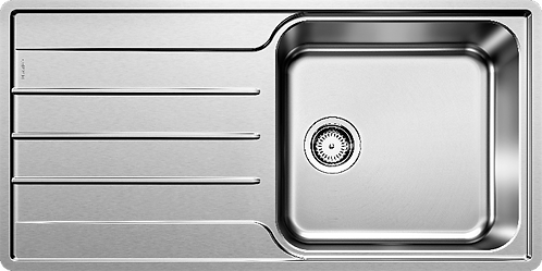Blanco Lemis XL 6S IF Single Bowl Stainless Steel Inset Sink 454730
