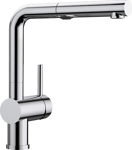Blanco Linus-S Vario Tap With Pull Out Spray Rinse Chrome Only 518406