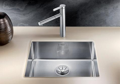 Blanco Claron 500-U Stainless Steel Undermount Sink & Tap Pack 453034