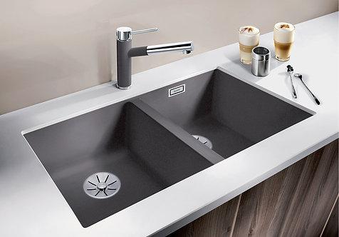 Blanco Subline 350/350-U Double Bowl Undermount Sink & Tap Pack