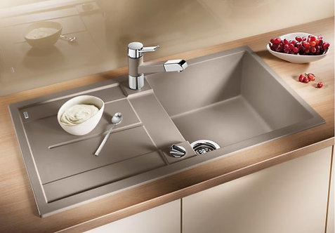 Blanco Metra 5S ALA Sink & Tap Pack : Silgranite Choice of Colour