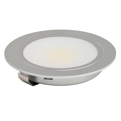 Blanco COB LED Round Under Cabinet Lights x 2