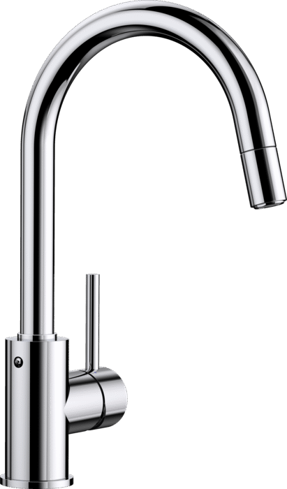 Blanco Mida-S Single Lever Mixer Tap with Pull Out -Chrome 521454