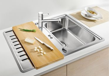 Blanco Classic Pro 45 S IF  ALA Sink & Tap Pack 453214
