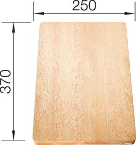 Blanco Wood Food Board 250 x 370 514650