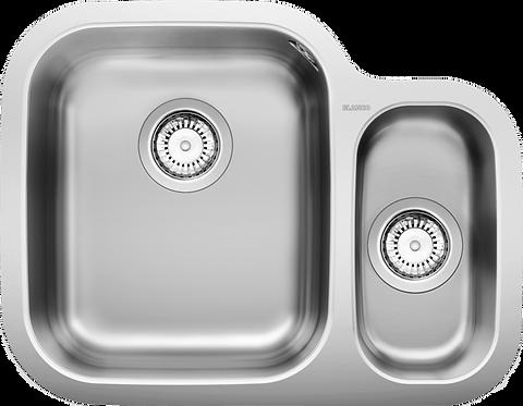 Blanco Supreme 533-U 1.5 Bowl Undermount Sink Handed