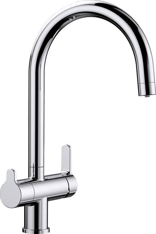 Blanco Trima Twin Lever Mixer Tap With Filter Function 525231