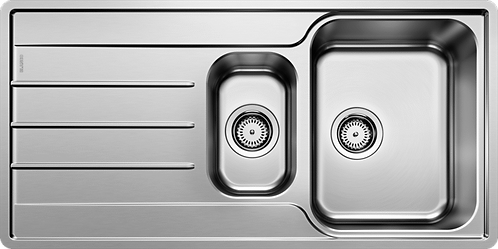 Blanco Lemis 6S IF 1.5 Bowl Stainless Steel Inset Sink 454729
