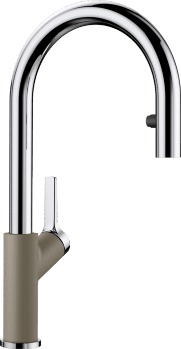 Blanco Carena  S Vario Single Lever Mixer Tap with Pull Out Silgranite Colour