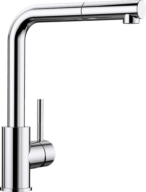 Blanco Mila-S Single Lever Tap with Pull Out Nozzle Chrome 519810