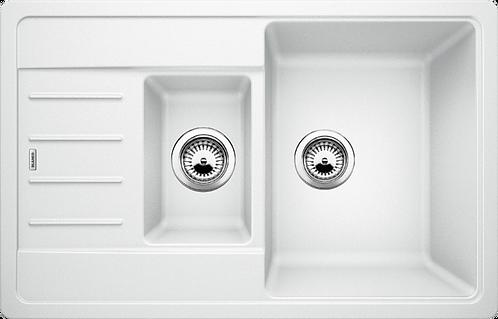 Blanco Legra 6S  Compact 1.5 Bowl Silgranite Sink - Choice of Colour