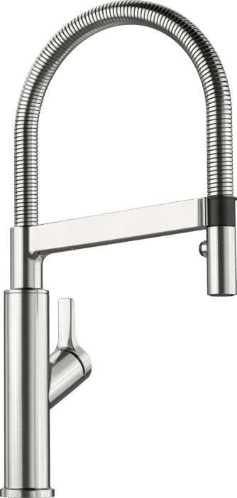 Blanco Solenta-S Tap Chrome or Stainless Steel Finish 522404 522405