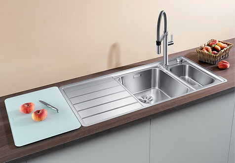 Blanco Axis llI 6S IF ALA Sink & Tap Pack 454462/3