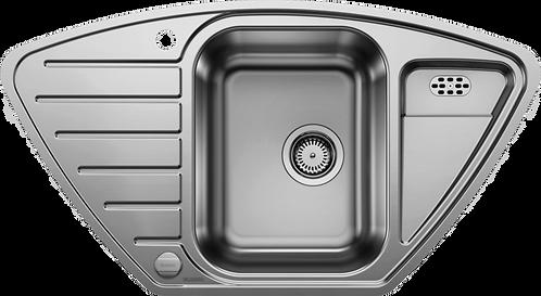 Blanco Lantos 9E IF Stainless Steel Corner Sink 450886