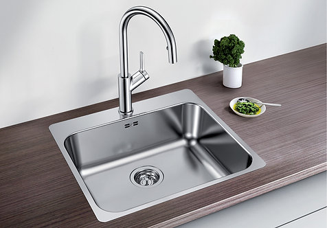 Blanco Supra 500 -IF/A  ALA Sink and Tap Pack Inset With Tap Ledge 455315