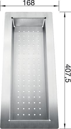 Blanco Stainless Steel Colander 514542