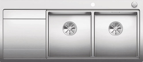 Blanco Divon ll 8S IF Double Bowl Stainless Steel Inset Sink