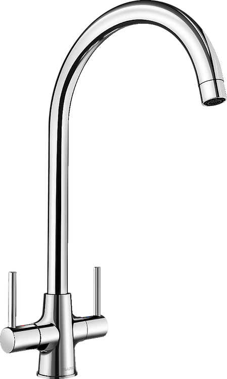 Blanco Loop Cruciform Monobloc Mixer Tap Chrome 452893