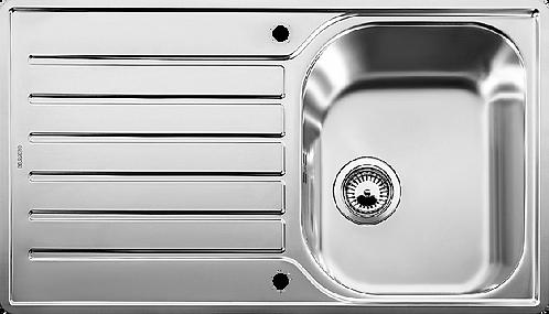 Blanco Lantos 45S-IF Salto Single Bowl Sink 453631
