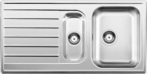 Blanco Livit 6S 1.5 Bowl Stainless Steel Inset Sink 450839