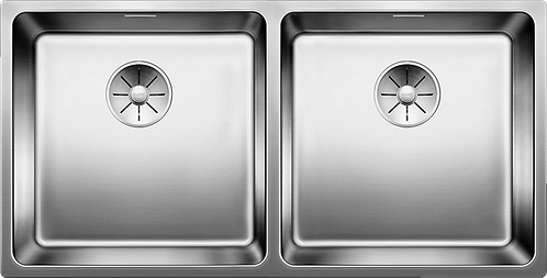 Blanco Andano 400/400-IF Double Bowl Inset Sink  522985