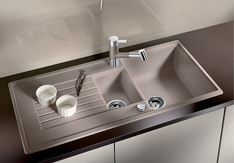 Blanco Zia 6S  ALA Sink & Tap Pack  Choice of Colour