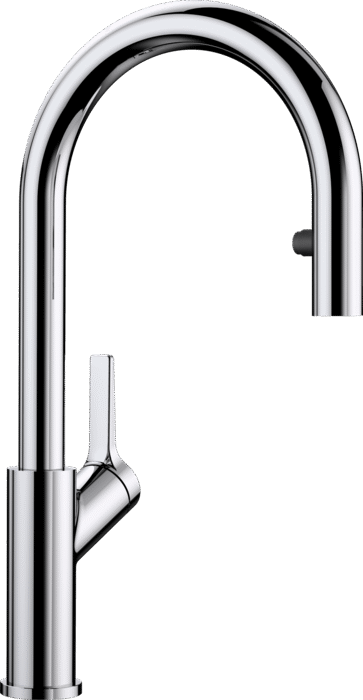 Blanco Carena  S Single Lever Mixer Tap with Pull Out Spray Chrome 521356