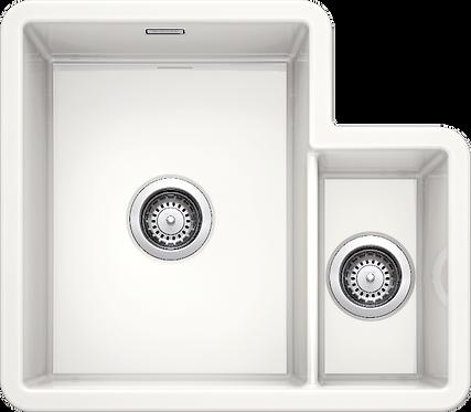 Blanco Villae 1.3 Bowl Undermount/Inset Ceramic Sink & Tap Pack 455797