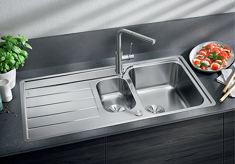 Blanco Classimo 6 S IF ALA Sink & Tap Pack 456182