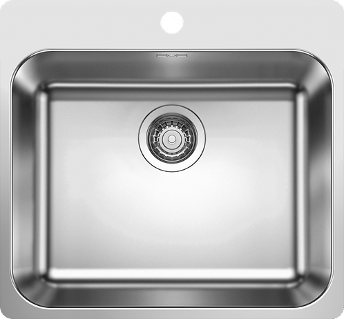 Blanco Supra 500 -IF/A Inset Stainless Steel Sink With Tap Ledge 455012  455012