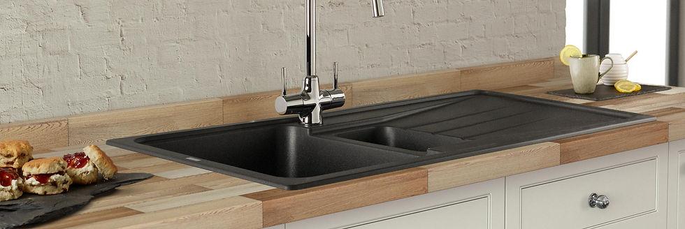 Blanco-inset-silgranite-sink