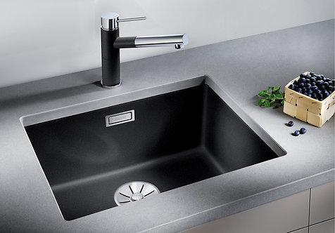Blanco Subline 500-U Single Bowl Silgranite Undermount Sink & Tap Pack
