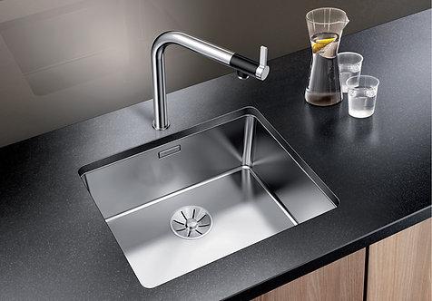 Blanco Andano 500-U - Undermount  Sink & Tap Pack 453089