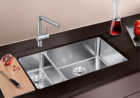 Blanco Andano 500/180-U Undermount Sink & Tap Pack Handed