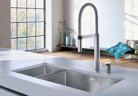 Blanco Claron 550/200 U Undermount Sink & Tap Pack