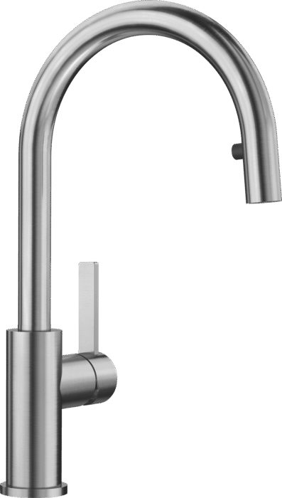 Blanco Candor-S Single Lever Tap With Pull Out Tap Head Brushed St/Steel 523121