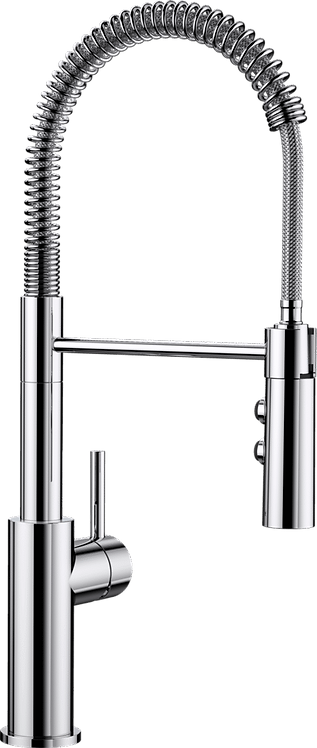 Blanco Catris-S Single Lever Professional Style Mixer Tap With Spray : 521476