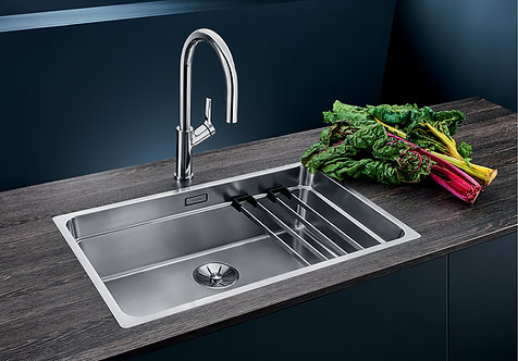 Blanco Etagon 700-IF ALA Sink and Tap Pack  455794