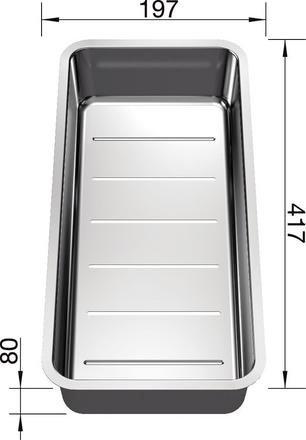 Blanco Stainless Steel Colander  227692